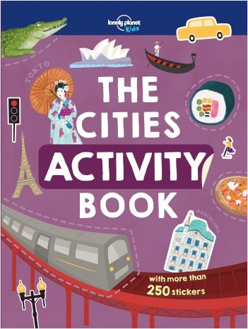 The Cities Activity Book - 1ed - Anglais