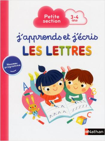 J'apprends et j'écris les Lettres - Petite Section
