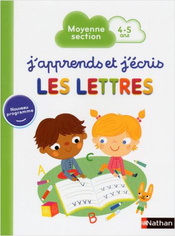 J'apprends et j'écris les Lettres - Moyenne Section