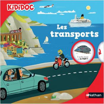 Les transports - livre animé Kididoc - Dès 5 ans