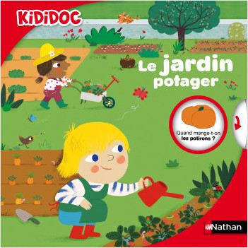 Le jardin potager - Livre animé Kididoc - Dès 4 ans