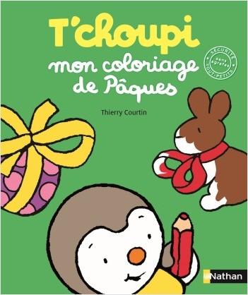 T'choupi : mon coloriage des oeufs de Pâques - Dès 2 ans