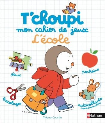 Mon cahier de jeux - L'école - Dès 2 ans