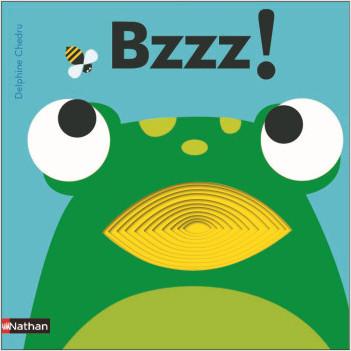 Bzzz ! - Livre à trous  - dès 2 ans