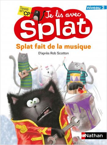 Splat fait de la musique - niveau 3 - album dès 6 ans