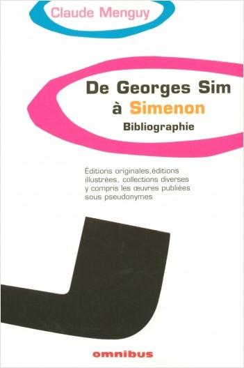 De Georges Sim à Simenon