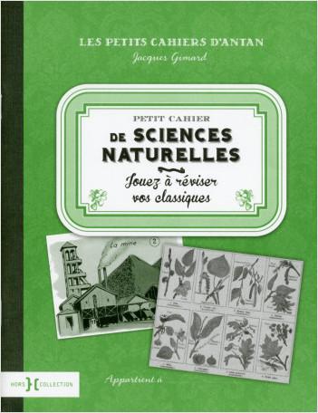 Petit cahier de sciences naturelles