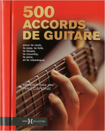 500 accords de guitare