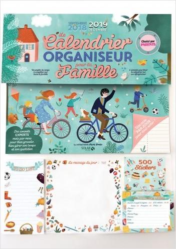 LE CALENDRIER ORGANISEUR POUR LA FAMILLLE 2019