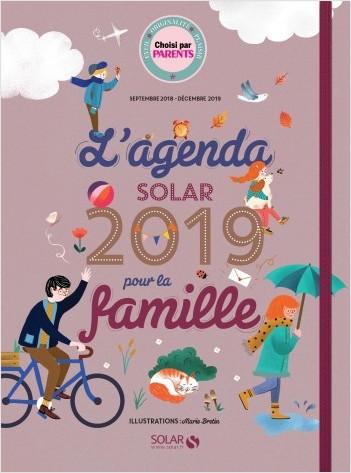 L'agenda Solar 2019 pour la famille