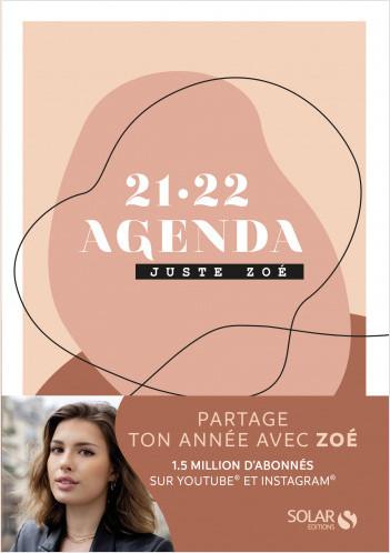 Agenda Juste Zoé 2021-2022