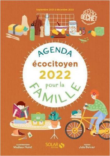 Agenda écocitoyen 2022 pour la famille