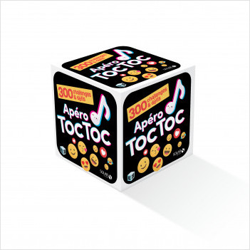 Roll'cube apéro 300 défis et challenges Toc Toc