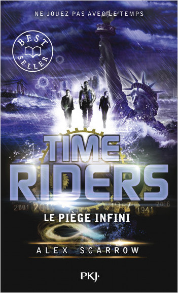 9. Time Riders : Le piège infini