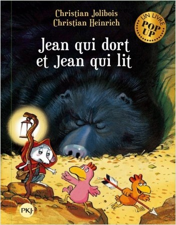 Les P'tites poules pop-up : Jean qui dort et Jean qui lit - 7