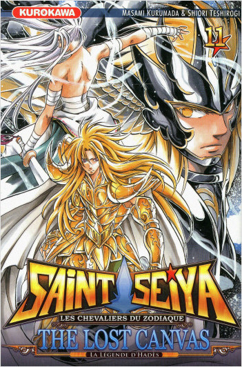Saint Seiya - Les Chevaliers du Zodiaque  - The Lost Canvas - La Légende d'Hadès - tome 11