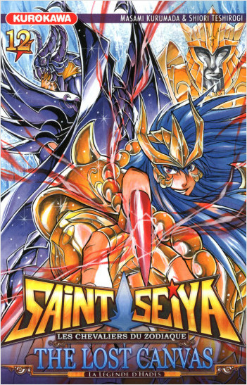 Saint Seiya - Les Chevaliers du Zodiaque  - The Lost Canvas - La Légende d'Hadès - tome 12