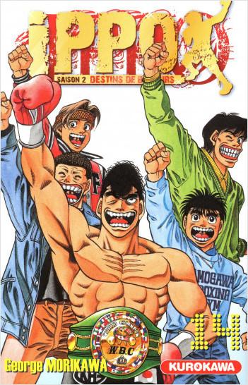 Ippo - saison 2, Destins de boxeurs - tome 14