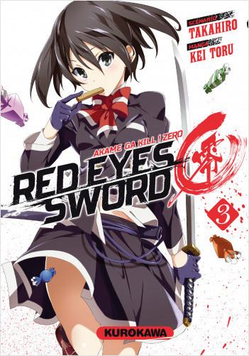 Red Eyes Sword Zero - Akame ga Kill ! Zero - tome 03