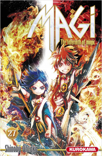 Magi - The Labyrinth of Magic - tome 27