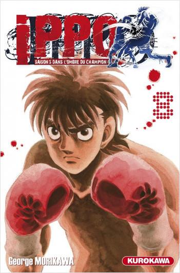 Ippo - saison 5, Dans l'ombre du champion - tome 08