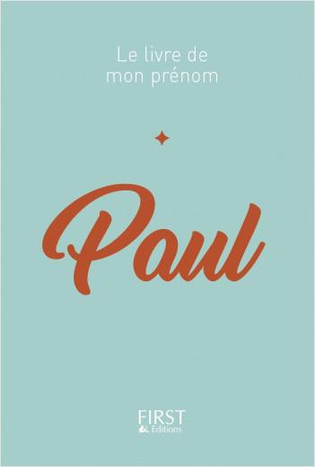 Le Livre de mon prénom - PAUL