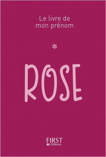 Le Livre de mon prénom - Rose 43