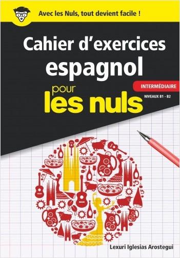 Cahier d'exercices espagnol intermédiaire pour les Nuls