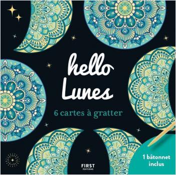 Cartes à gratter - 6 mini cartes à gratter  - Hello Lunes