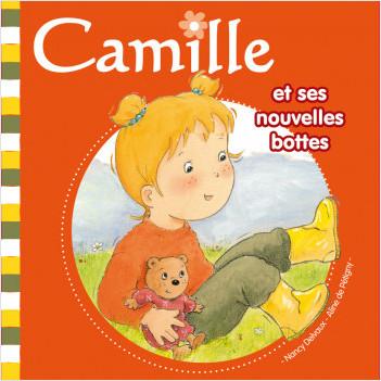 Camille et ses nouvelles bottes