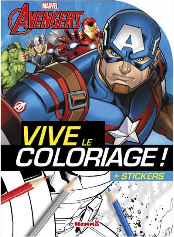 Marvel - The Avengers - Vive le coloriage !