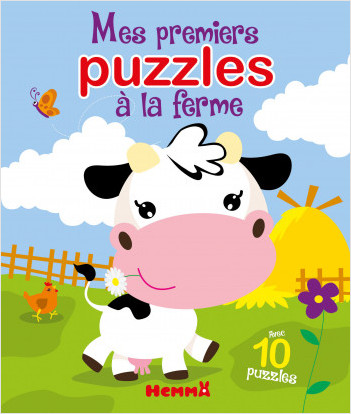 Mes premiers puzzles à la ferme