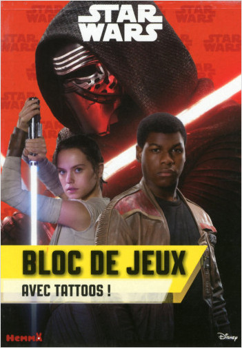 Disney Star Wars -  Bloc de jeux avec tattoos