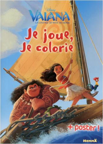 Disney Vaiana - Je joue, je colorie + Poster