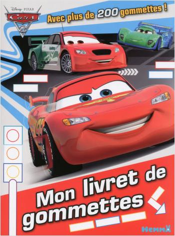 Cars 2 - Mon livret de gommettes