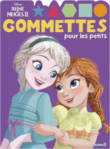 Disney La Reine des Neiges 2 - Gommettes pour les petits