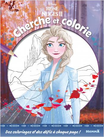 Disney La Reine des Neiges 2 - Cherche et colorie