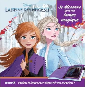 Disney La Reine des Neiges 2 - Je découvre avec ma lampe magique