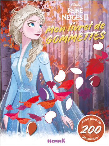 Disney La Reine des Neiges 2 - Mon livret de gommettes