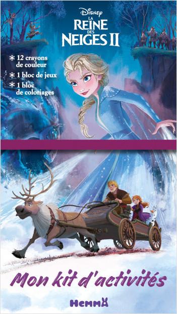 Disney La Reine des Neiges 2 - Mon kit d'activités