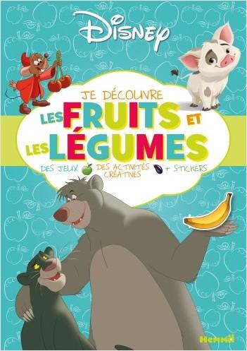 Disney - Je découvre les fruits et les légumes