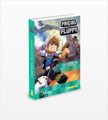 Frigiel et Fluffy - Agenda scolaire 2019-2020