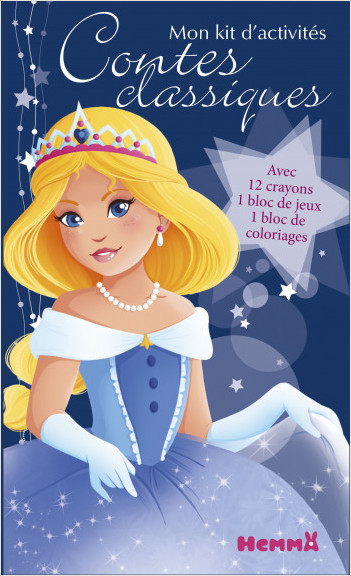 Princesses de contes classiques - Mon kit d'activités
