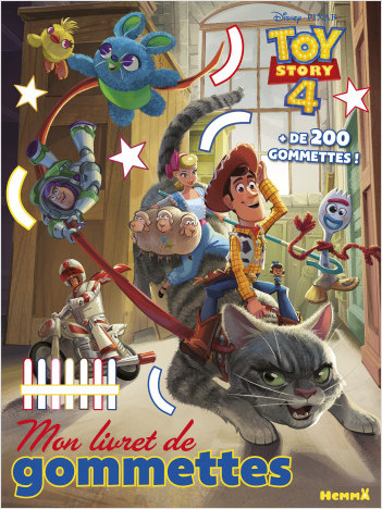 Disney Toy Story 4 - Mon livret de gommettes