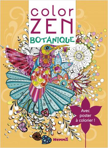 Color Zen poster- Botanique