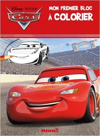 Disney Cars - Mon premier bloc à colorier