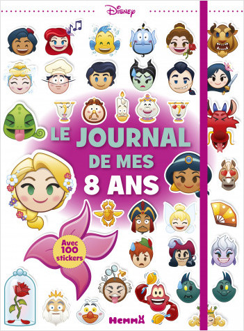 Disney Emoji - Le journal de mes 8 ans (Princesses)