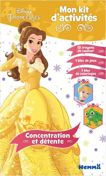 Disney Princesses - Mon kit d'activités - Concentration et détente