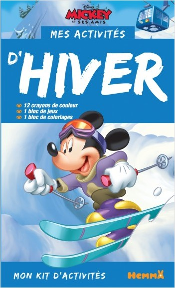 Disney Mickey - Mon kit d'activités - Mes activités d'hiver