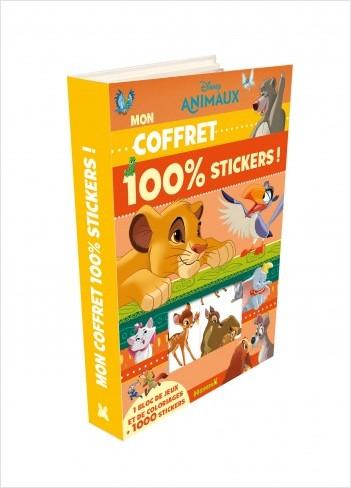 Disney Animaux - Mon coffret 100% stickers
